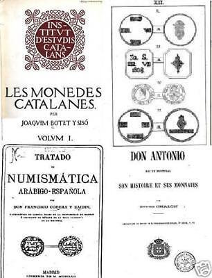 DVD 111 books on coins of Spain and Portugal moedas monedas España Andalusia on Rummage