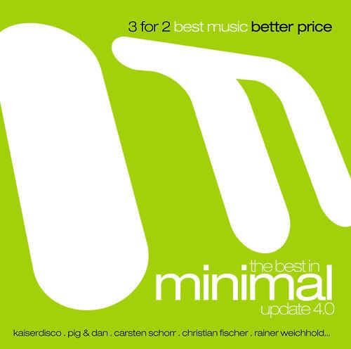 CD The Best In Minimal Update 4.0 von Various Artists 3CDs