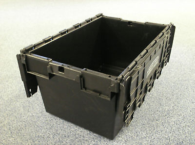 1-New-Large-Black-Plastic-Storage-Crate-Containers-80L