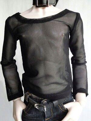 [wamami]06 Black Fishnet T-shirt 1/4 Msd Aod Dod Dz Bjd Dollfie