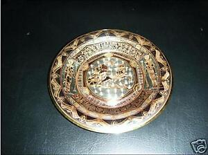 Egyptian pharaonic Decoration Brass plate/ Ramsis scene