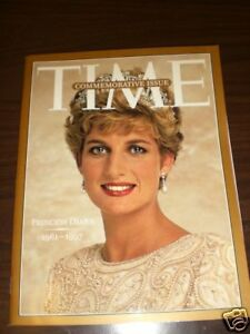 Time-Commemorative-Issue-Princess-Diana-1961-1997-N-W-C