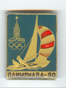 1980-Moscow-Olympics-Games-LOGO-Badge-Tallinn-Regatta