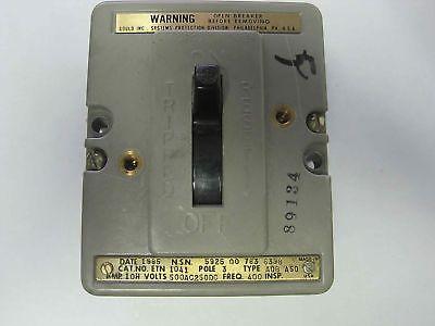 Gould Air Circuit Breaker Aqb-a50 3-pole Etn-1041