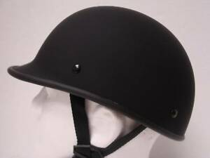 XL-Motorcycle-Biker-Cruiser-German-Novelty-POLO-Half-Helmet-Chopper-Softail