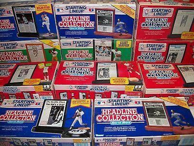 11 Starting Lineup Headline Collection Figures