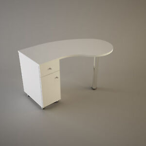 Manicure stationtable nail bardesk curved - <span itemprop=availableAtOrFrom>York, East Riding of Yorkshire, United Kingdom</span> - We will exchange any faulty items under the manufacturers guarantee. If you wish to return the item for any other reason there is a 15% collection fee. The item mus - York, East Riding of Yorkshire, United Kingdom