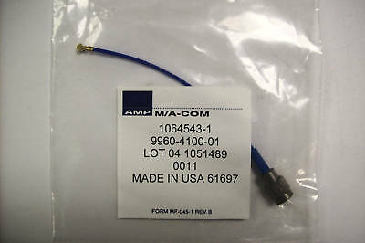 Amp 1064543-1 Sma M To Mcx F Cable Assy