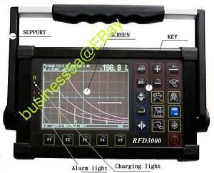 Digital-Ultrasonic-Flaw-Detector-RFD-3000-with-best-seller-NDT-book
