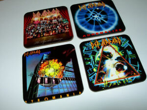Def-Leppard-Album-Cover-COASTER-Set