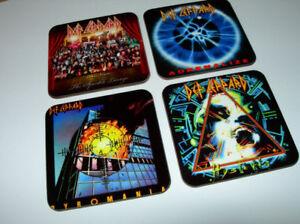 Def-Leppard-Album-Cover-COASTER-Set
