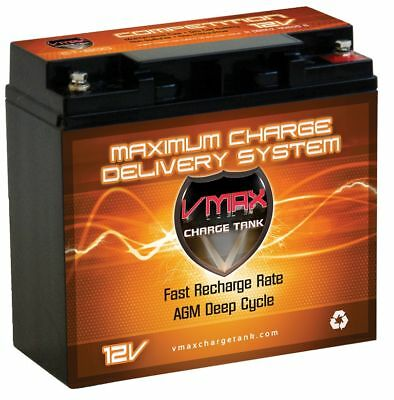 Vmax600 Agm Snowmobile Battery Upgrade 12v 20ah For Arctic Cat Zrt 2001