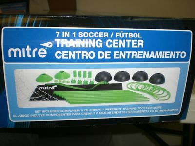 Mitre 7 In 1 Soccer Training Center. 7 Diff Train Tools
