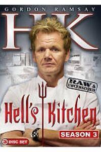 Hell 39 S Kitchen Complete Third Season 3 Three New Dvd 773848640331 Ebay