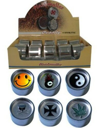 GRINDERS-MULLER-3-PIECE-STAINLESS-STEEL-GREAT-QUALITY