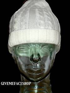 BRAND-NEW-WHITE-ROLEY-KNITTED-BEANIE-WOOLY-HAT-CAP-ETHO