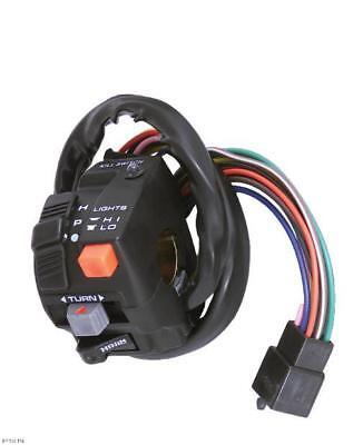 Motorcycle Handlebar Mount Turn Signal Multi Switch Dual Sport Dot