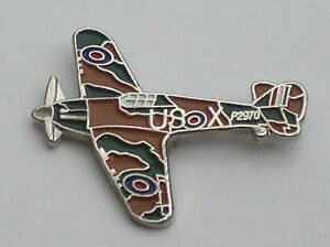 Hurricane-RAF-WW2-Aeroplane-Quality-Enamel-Pin-Badge
