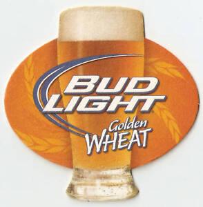 Image Is Loading 18 Bud Light Golden Wheat Die Cut Beer