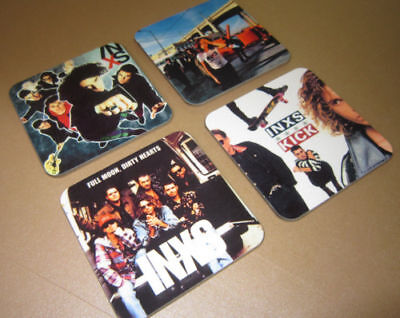 INXS Michael Hutchence  Album Cover COASTER Set