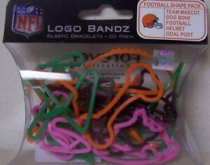 Cleveland-Browns-Logo-Silly-Bandz-1-pack-of-20