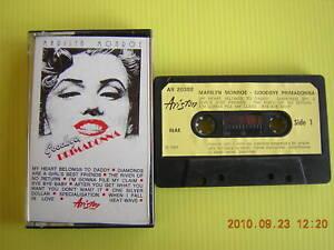 MARILYN-MONROE-GOODBYE-PRIMADONNA-MUSICASSETTA-K7-1981