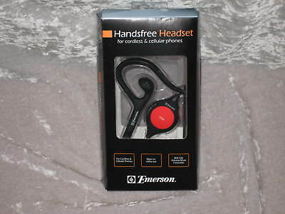 Emerson Hands Free Headset Cordless Cell Phones