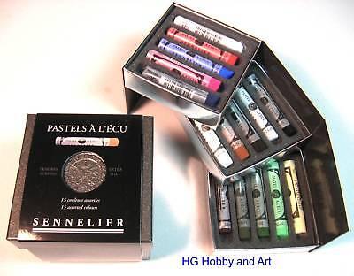 Sennelier Soft Pastels Cube Set 15 Color Savoir Faire