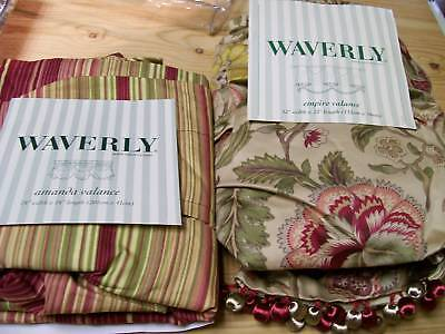 Waverly-Curtain-Valances-Assorted-Styles-New-40-60