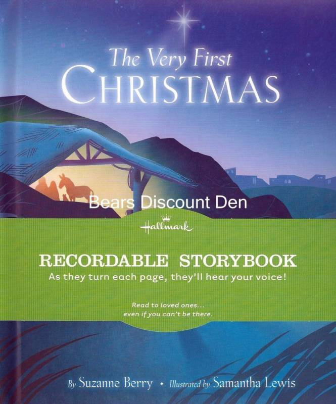 Hallmark - The Very First Christmas Recordable Storybook -