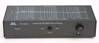Tcc Tc 760Lc Mm Mc Phono Preamp W  Level Adjust  Black