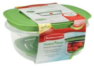 RUBBERMAID 1776415  5 CUP PRODUCE SAVER FOOD STORAGE CONTAINER NEW GREEN