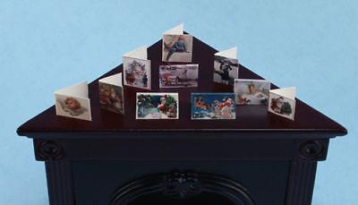 FABULOUS 1:12 Scale Dollhouse Miniature Christmas Cards Kit #HCX10