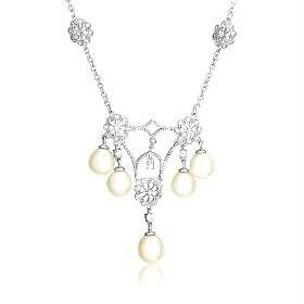 New-Sterling-Silver-Pearl-Chandelier-Necklace-17