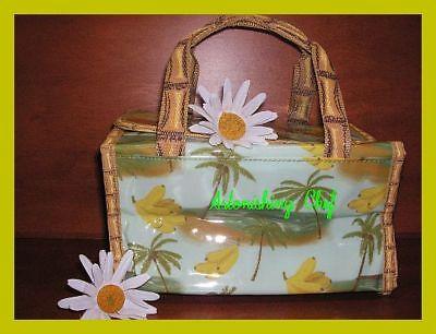 Avon Naturals Tropical Cosmetic Tote Bag
