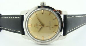 Rare-OMEGA-Seamaster-Steel-354-Bumper-Automatic-Watch