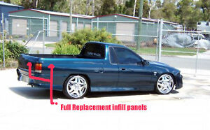 Holden Ute Infill Panel Cover For HSV/Holden Commodore VS VR Side And Rear Gate