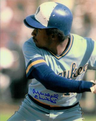 1982 Brewers Marshall Edwards Signed Photo 8X10 Auto Autographed Milwaukee