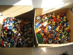10 LB LEGO LOT pounds bricks pieces part random mix lbs