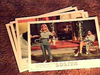 LOLITA LOBBY CARD SET '62 STANLEY KUBRICK PETER SELLERS