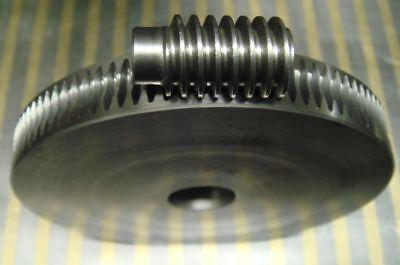 Schneckenrad + Hohlschnecke Modul 1 Zähne 90