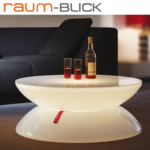 Moree Lounge Tisch Indoor Couchtisch Beleuchtet NEUOVP