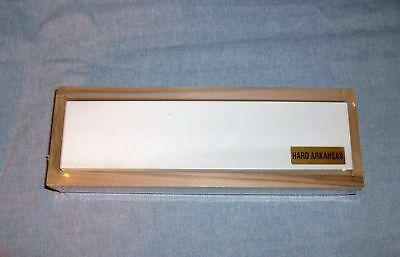 Arkansas Sharpening Stone - Hard - Fine 8 X 2 Boxed