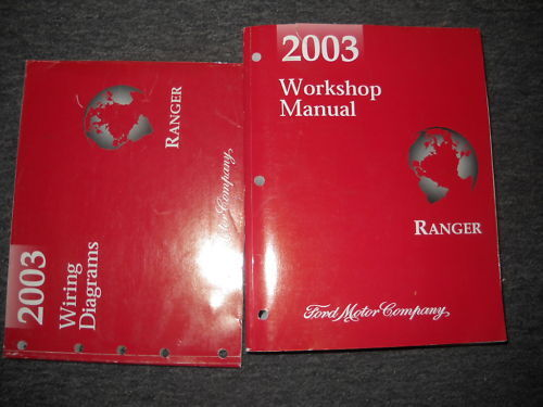 2003 Ford Ranger Truck Service Shop Repair Workshop Manual