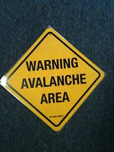 Warning-Avalanche-Area-mountain-danger-metal-safety-sign-ski-12-x12