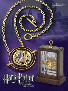HARRY POTTER réplique du retourneur de temps plaqué OR time turner 010035