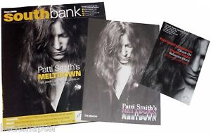 PATTI-SMITH-Meltdown-Concert-guide-programme-flyer-2005