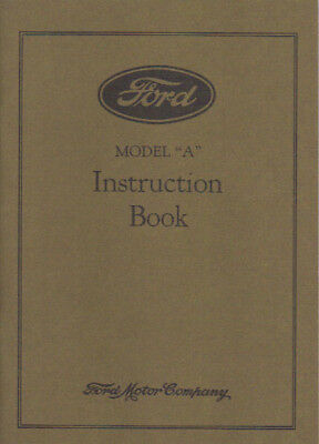 1931 Ford Model A Owner's Manual