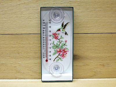 (Aspects Original Window Mount Outdoor Thermometer Hummingbird Azalea #192)