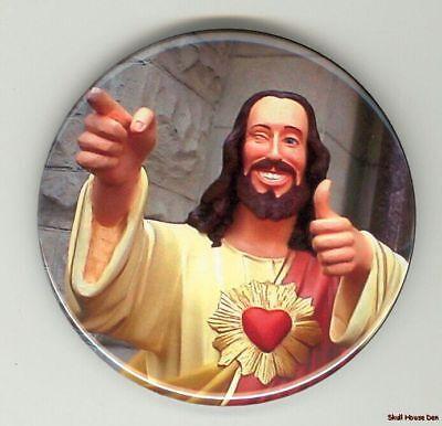 BUDDY CHRIST Dogma 3 inch magnet